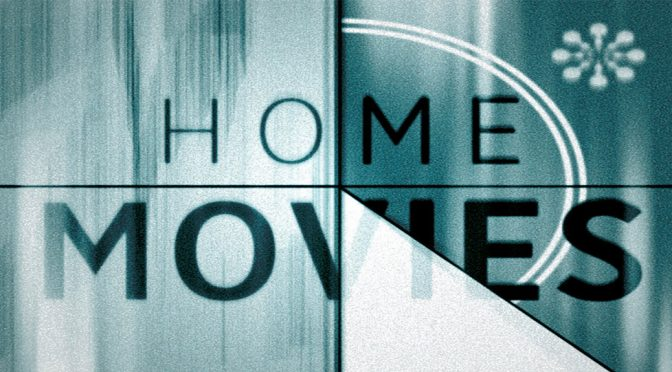 home movies tv screen