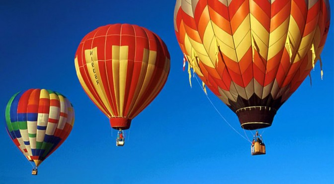 Beautiful Hot Air Balloons